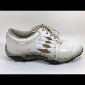 FootJoy White Leather Golf Shoes Sz 6M